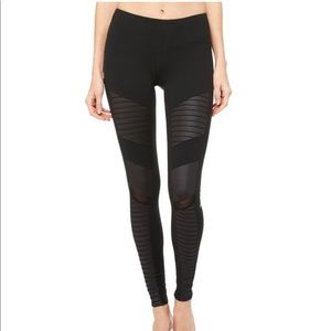 Alo Yoga Black Moto Legging XS
